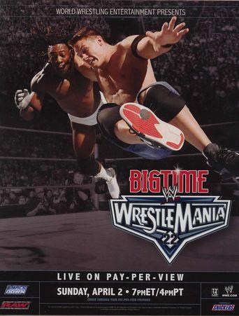 WWE WrestleMania 22 Poster
