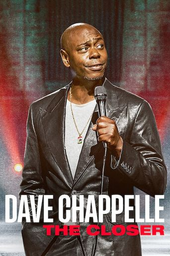 Dave Chappelle: The Closer Poster