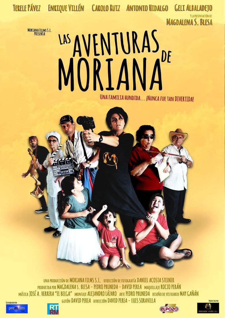 Las aventuras de Moriana Poster