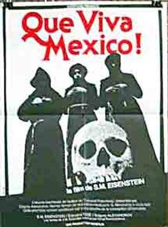 ¡Que Viva México! Poster