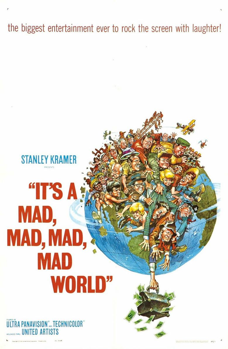 It's a Mad, Mad, Mad, Mad World Poster