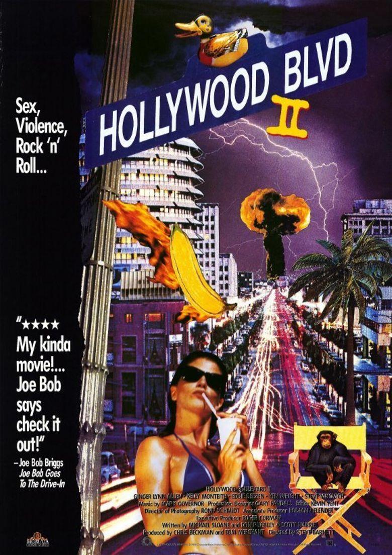 Hollywood Boulevard II Poster