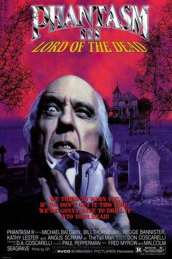 Phantasm III: Lord of the Dead Poster