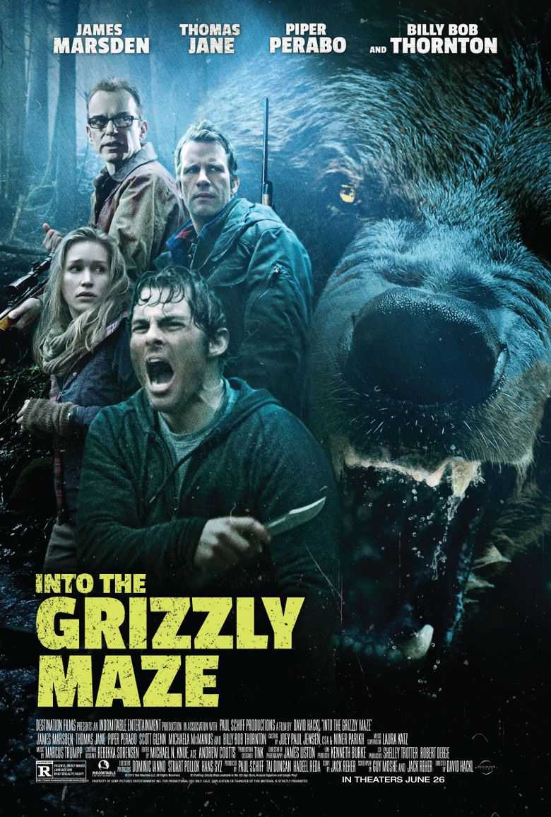 Into the Grizzly Maze Poster