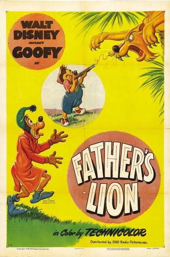 Father's Lion Poster