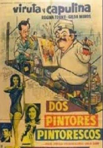 Dos pintores pintorescos Poster
