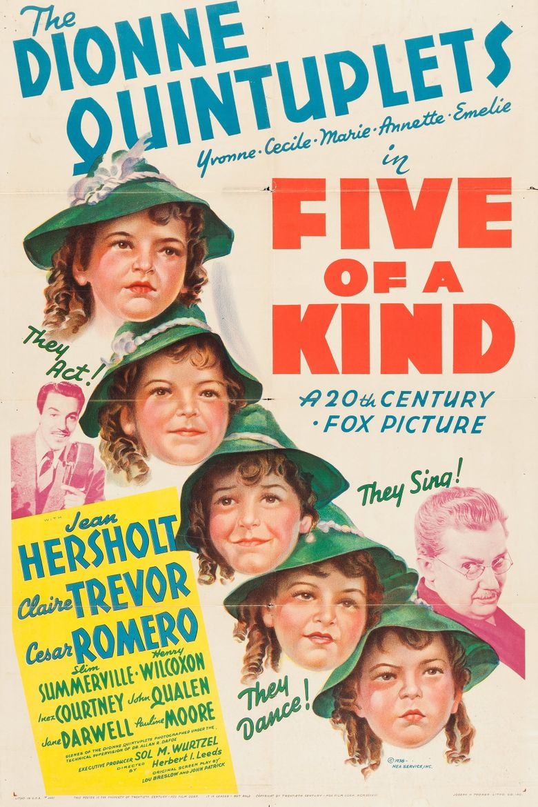 Five of a Kind Poster