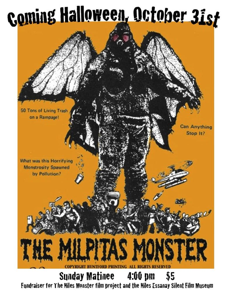 The Milpitas Monster Poster