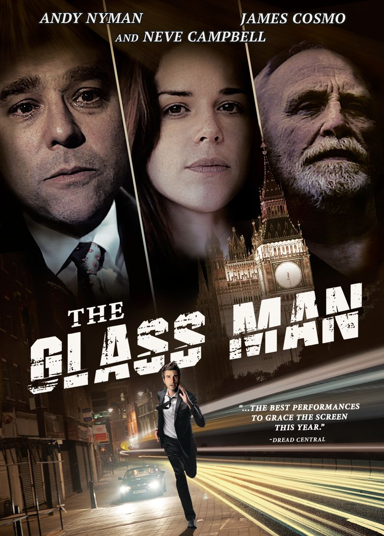 The Glass Man Poster