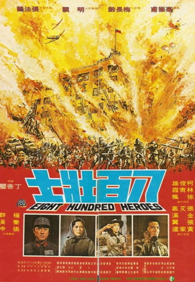 Eight Hundred Heroes Poster