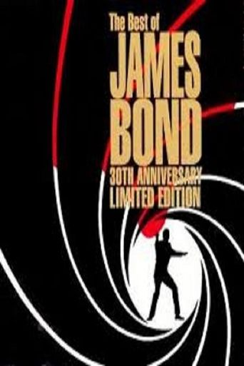 30 Years of James Bond Poster