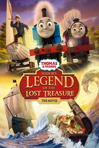 Thomas & Friends: Sodor's Legend of the Lost Treasure: The Movie Poster