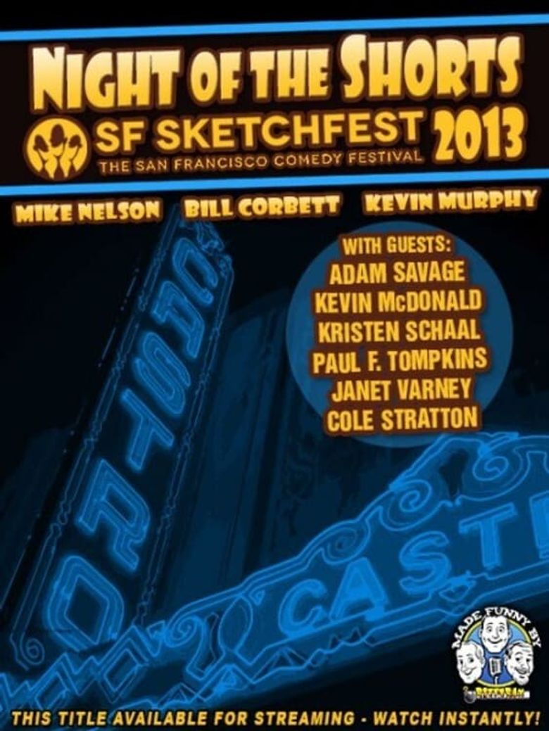 RiffTrax Live: Night of the Shorts SF Sketchfest 2013 Poster