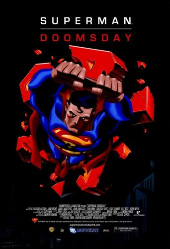 Superman: Doomsday Poster