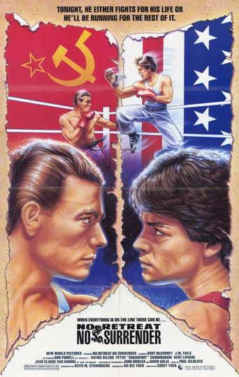 No Retreat, No Surrender Poster