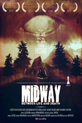 Midway Between Life and Death Poster