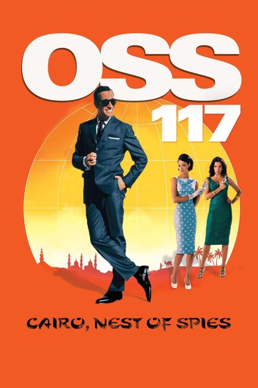 OSS 117: Cairo, Nest of Spies Poster
