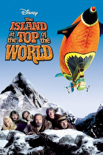 The Island at the Top of the World Poster