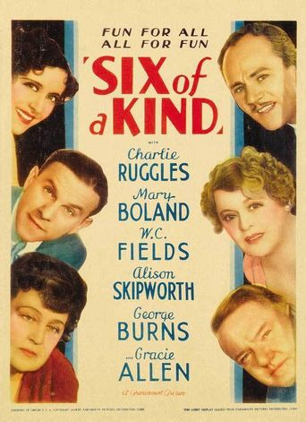 Six of a Kind Poster