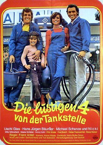 Die lustigen Vier von der Tankstelle Poster