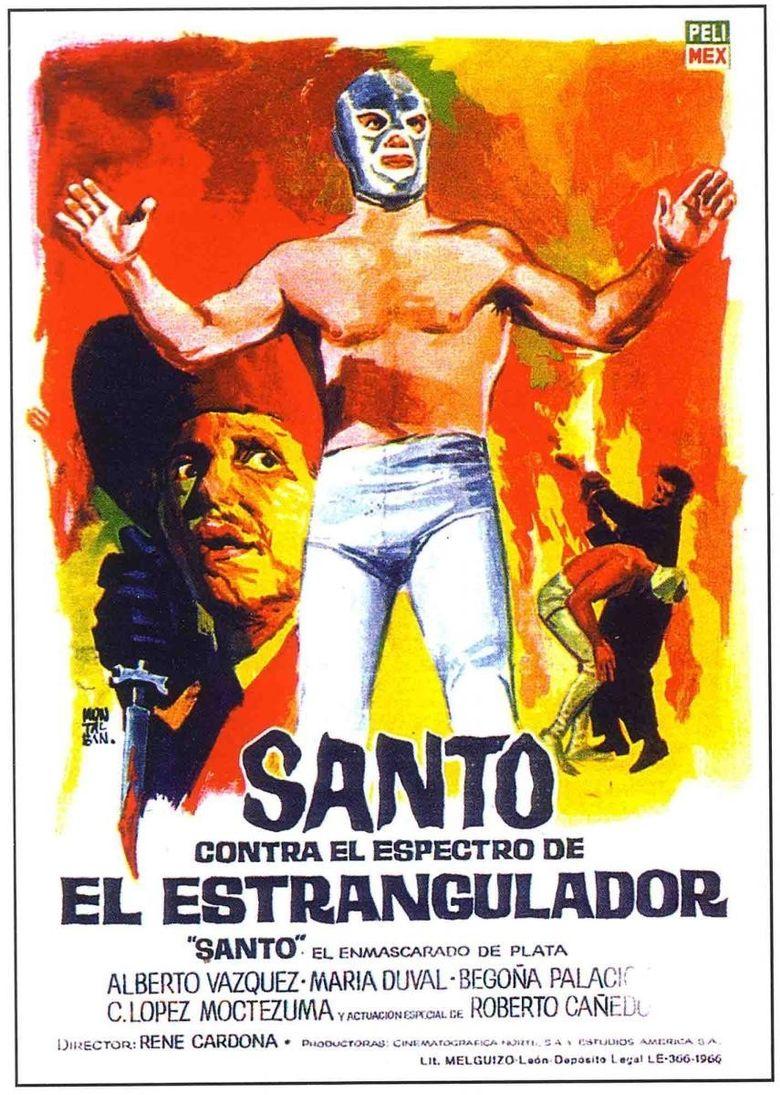 Santo vs. the Ghost of the Strangler Poster