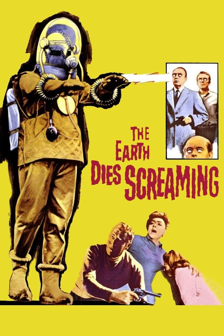 The Earth Dies Screaming Poster