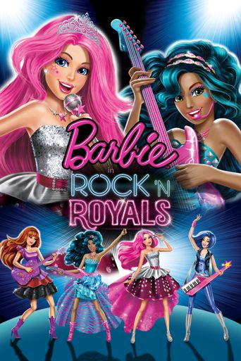 Barbie in Rock 'N Royals Poster
