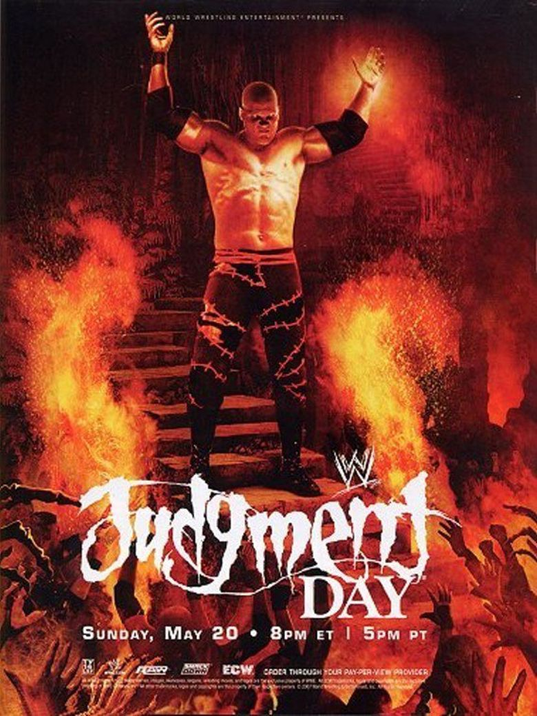 WWE Judgment Day 2007 Poster