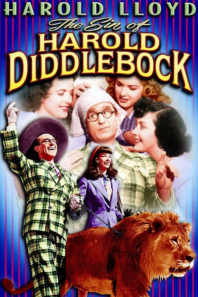The Sin of Harold Diddlebock Poster
