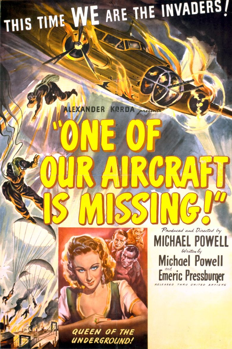 One of Our Aircraft Is Missing Poster