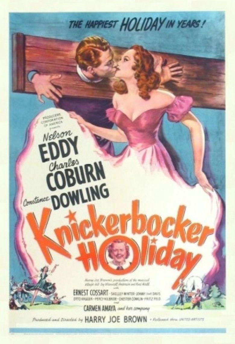Knickerbocker Holiday Poster