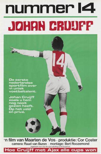 Nummer 14 Johan Cruijff Poster