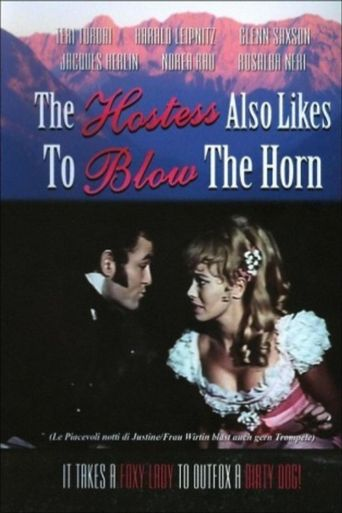 The Hostess Also Likes to Blow the Horn Poster