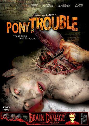 Pony Trouble Poster