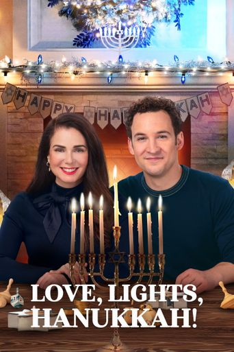 Love, Lights, Hanukkah! Poster