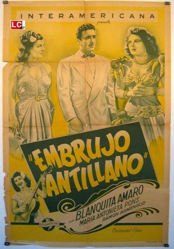 Embrujo antillano Poster