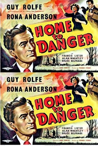 Home To Danger Poster