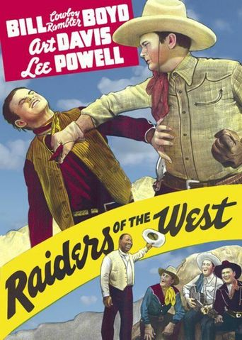 Raiders of the West Poster