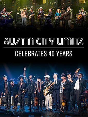 Austin City Limits Celebrates 40 Years Poster
