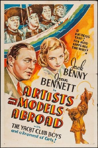 Artists and Models Abroad Poster
