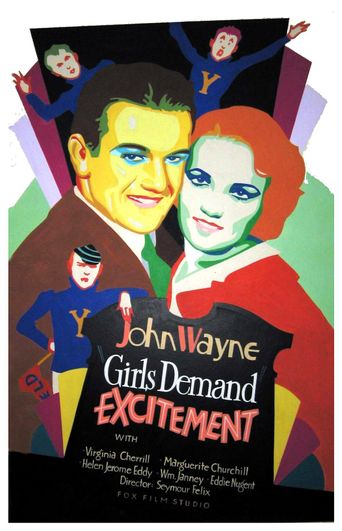 Girls Demand Excitement Poster