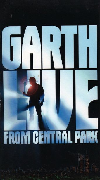 Garth Live from Central Park Poster