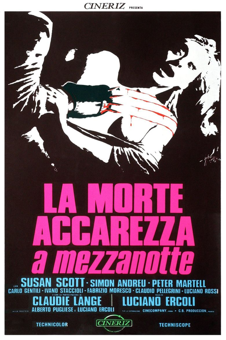 Death Walks at Midnight Poster