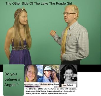 The Other Side of the Lake the Purple Girl: Episode IV-the New Visitor Poster