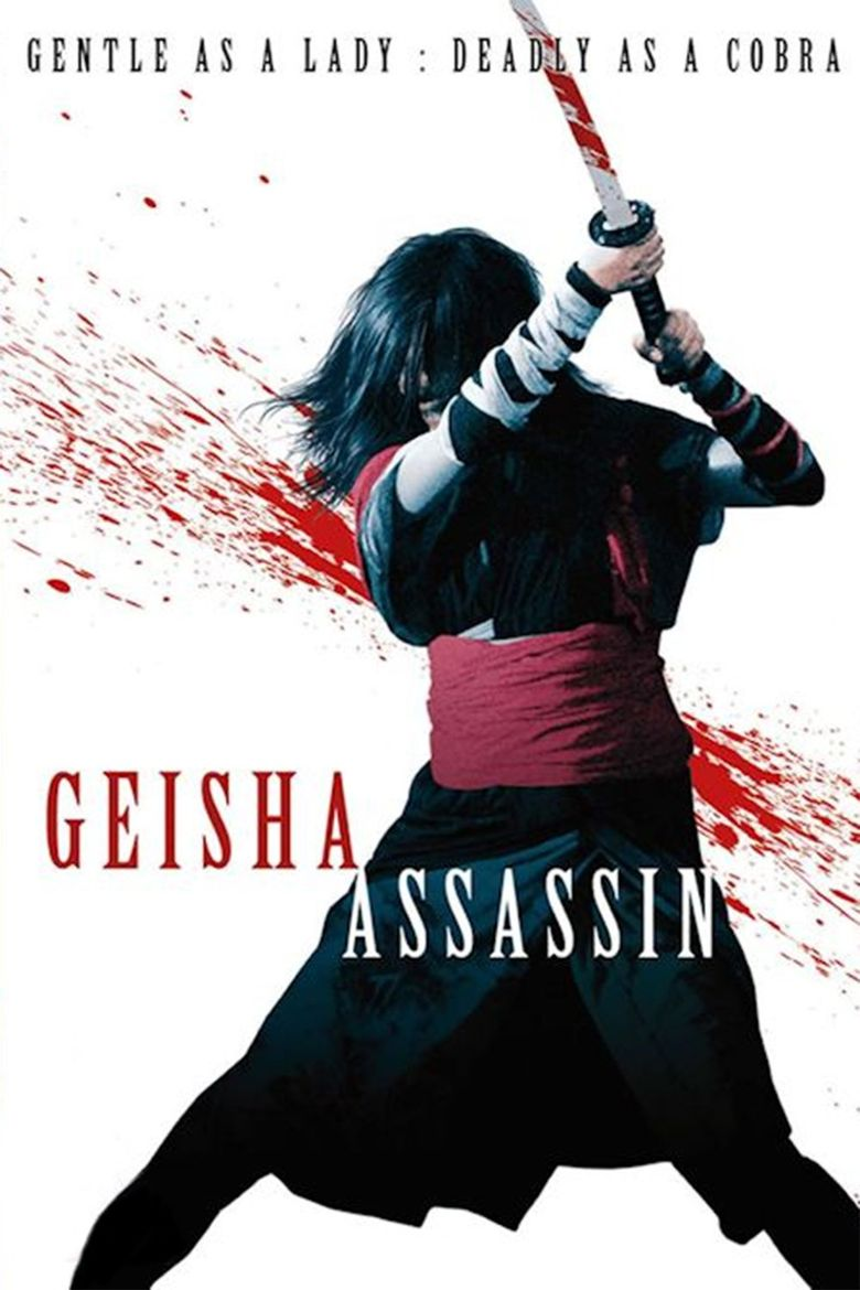 Geisha Assassin Poster
