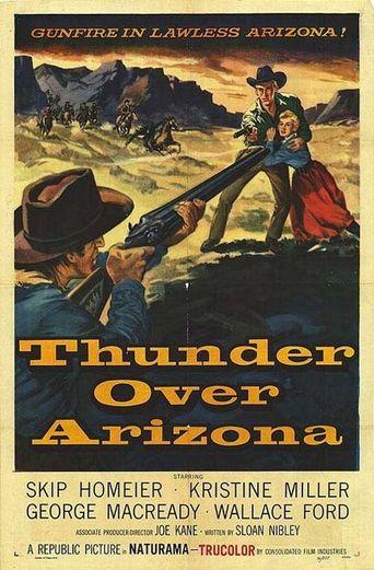 Thunder Over Arizona Poster