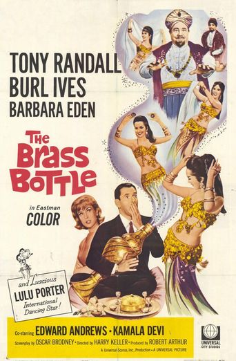 The Brass Bottle Poster