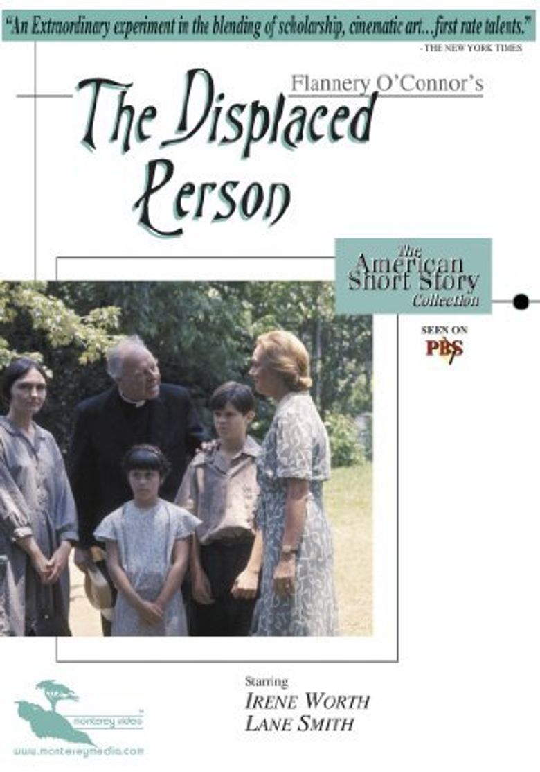 The Displaced Person Poster