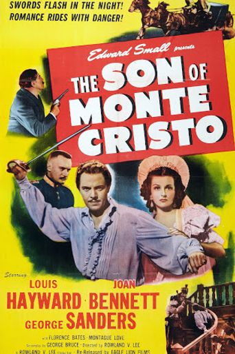 The Son of Monte Cristo Poster