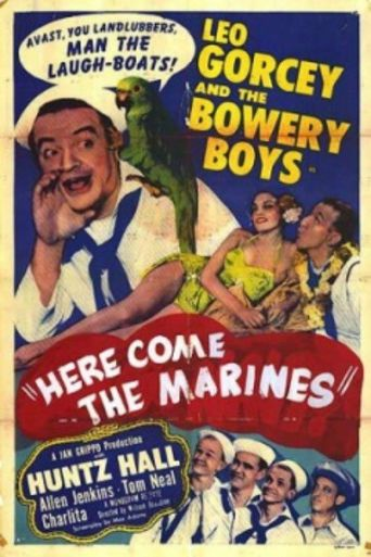 Here Come the Marines Poster